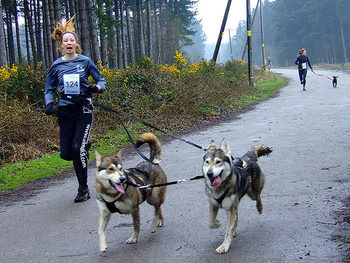 Running with you Emotional Support Animal