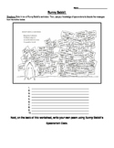 Runny Babbit Shel Silverstein Poetry Spoonerisms Activity