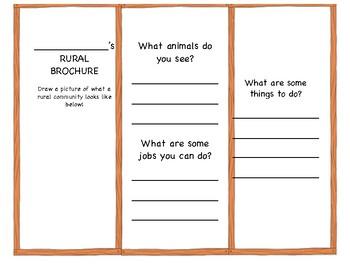 Rural Brochure Template