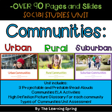 Rural Communities with PowerPoint , ELA Activities, and Pi