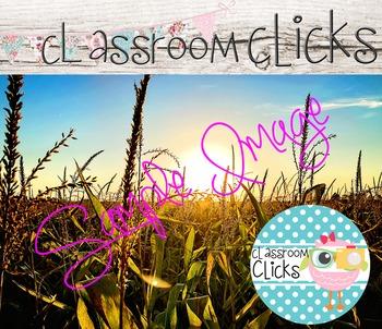 Rural Farm Sunset Image_228: Hi Res Images for Bloggers & Teacherpreneurs