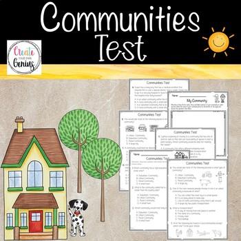 Rural, Suburban, and Urban Communities Test