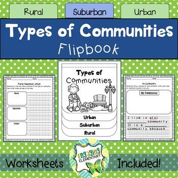 Rural Urban Suburban Communities Flipbook