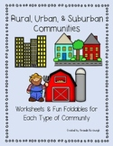 Rural, Urban, and Suburban Communities