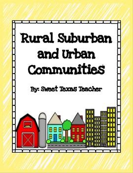 Rural, Urban, and Suburban Communities