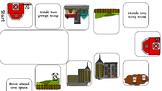 Rural, Urban, and Suburban File folder Review Game