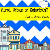 Rural, Urban or Suburban?
