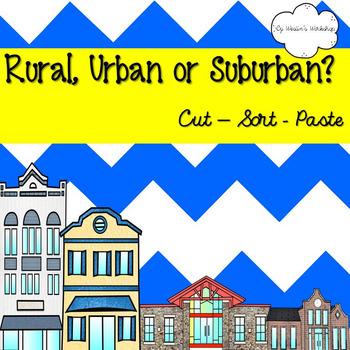 Rural, Urban or Suburban?