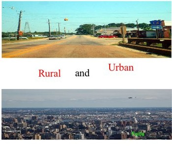 Rural and Urban (Where do you live?)