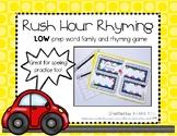 Rush Hour Rhyming - Literacy Center Rhyming Game