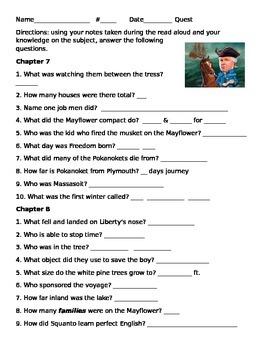 Rush Revere: Brave Pilgrims Ch. 7-8 questions
