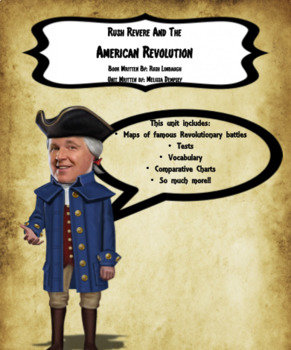 Rush Revere and the American Revolution Unit