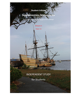 Rush Revere and the Brave Pilgrims Novel Study Workbook