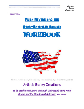 Rush Revere and the Star Spangled Banner STUDENT Study Guide