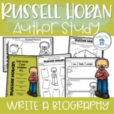 Russell Hoban Activity for Biography