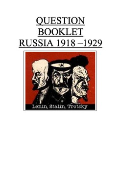 Russia 1918-1929 Russia after the Revolution test prep rev