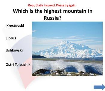 Russia PowerPoint presentation - PDF - Quiz