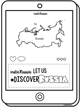 Russia Country Study {Social Studies Supplemental Lesson} Instagram