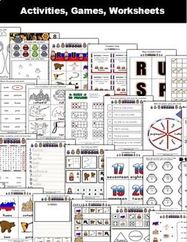 Russia Classroom Center Activity Bundle