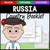Russia Copywork, Activities, and Country Booklet