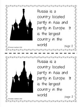 Russia Country Booklet - Country Study - Interactive and Differentiated