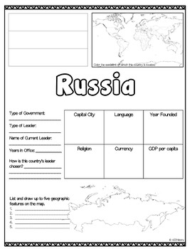 Russia Country Fact Sheet