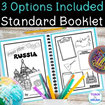 Russia Country Research Project, PBL:Interactive Lapbook and Notebook