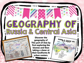 Russia & Central Asia Biome and Geography Hunt
