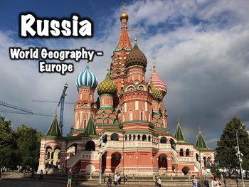 Russia PowerPoint - Geography, History, Government, Cultur