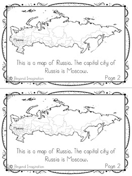 Russia Country Study | 48 Pages for Differentiated Learning + Bonus Pages