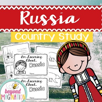 Russia Country Study | 48 Pages for Differentiated Learnin