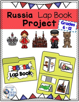 Russia Lap Book Project