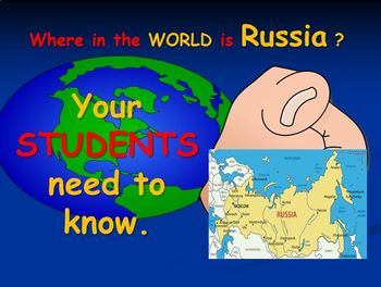 Russia Map Product