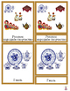 Russia Montessori 3-part cards + definition cards in Russian
