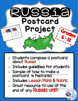 Russia Postcard Project