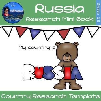 Russia - Research Mini Book