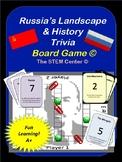 Russia Trivia Board Game
