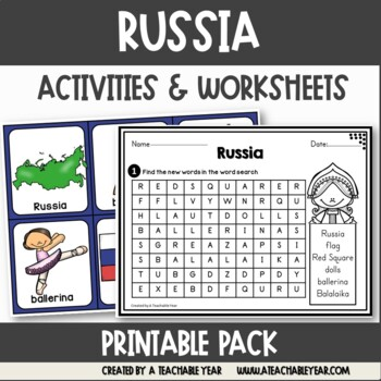 Russia - Vocabulary Pack