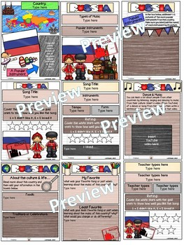 Russia World Music Digital Passport