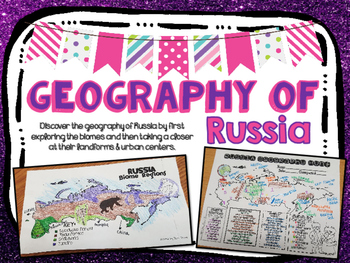 Russia Biome and Geography Hunt