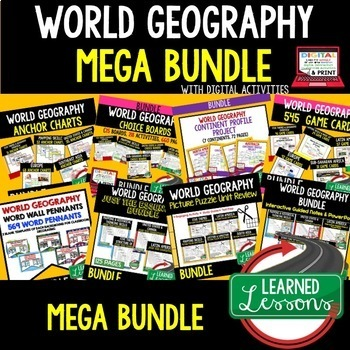 Russia and Eurasia BIG BUNDLE (World Geography Bundle)