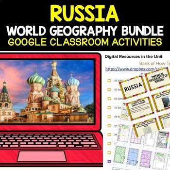 Russia and Eurasia BIG BUNDLE (World Geography Bundle)