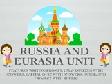 Russia and Eurasia Complete Geography Unit Bundle