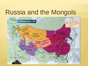 Russia and the Mongols