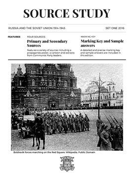 Russia and the Soviet Union Source Study Set 1