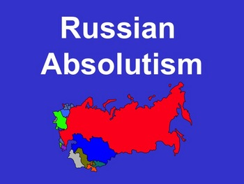 Russian Absolutism