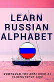 Russian Alphabet. Learn Russian with flashcards