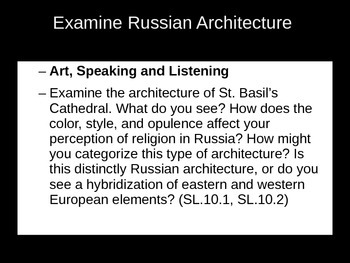 Russian Art Analysis for English Students: Non-print text