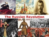 Russian/Bolshevik Revolution Power Point Presentation