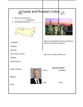Russian Culture Notes